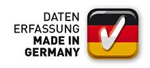 Wir erfassen Ihre Daten garantiert in Deutschland